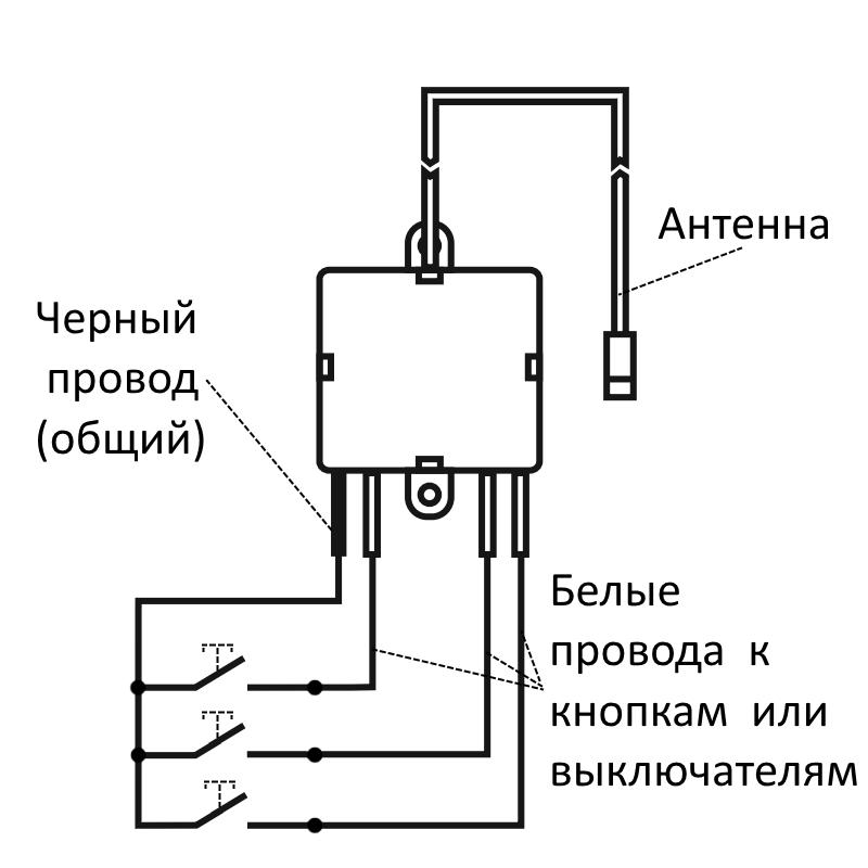 Пульт монтажный PK-315 схема подключения