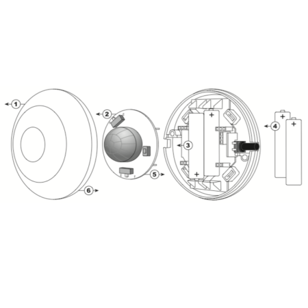 Zamel RCR-01 (схема)