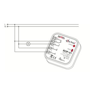 Zamel ROP-01 (схема подключения)