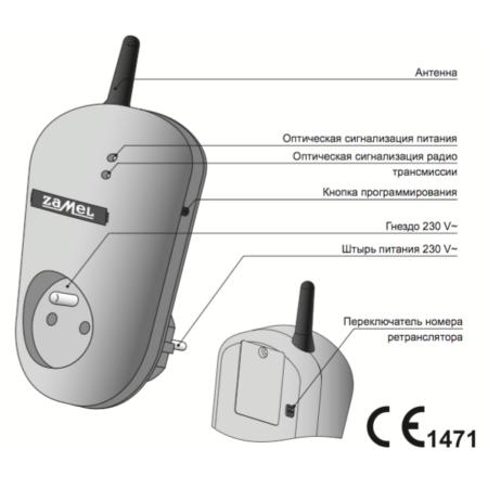 Zamel RTN-01 (описание)