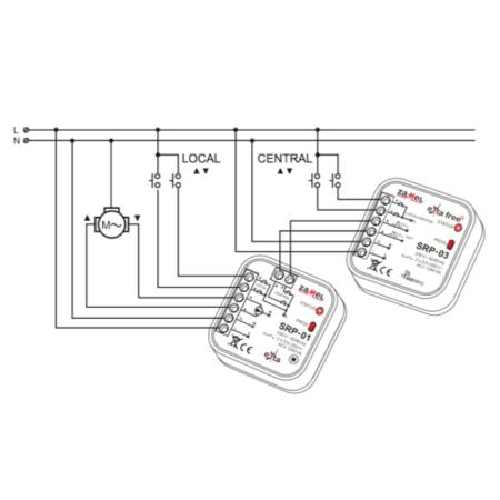 Zamel SRP-03 (схема подключения)
