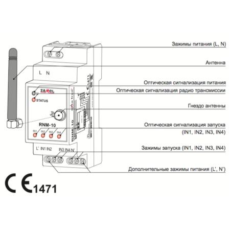 Zamel RNM-10 (описание)