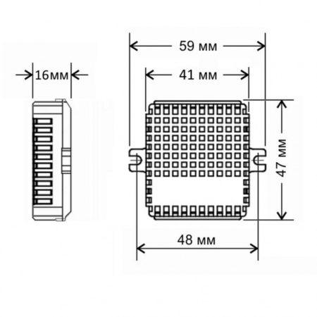 SRF-1-1000-R размеры