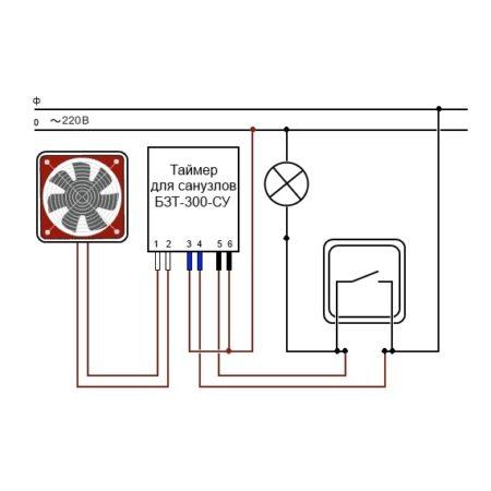 Гранит БЗТ-300-СУ Схема подключения-1
